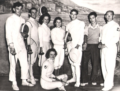 Early Days QLD Fencing. Denise O'Brien 13 Future Olympian