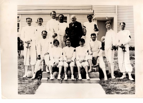 Commonwelth Games Team to Auckland NZ 1950