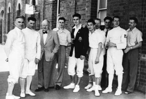 Some Contestants at Australian Championships Brisbane 1951