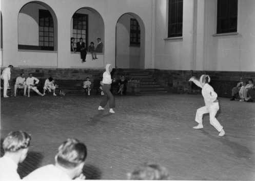 Fencing in Quadrangle