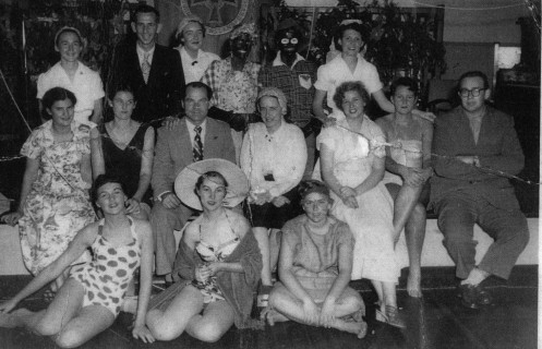 Centuar Nurses Fencing Club at Social Swim and BBQ. Coach Tom Kay (3rd Left, Second Row) from Apollo Institute Brisbane