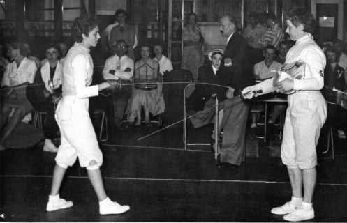 Barbara McCreath (Left), Ruth Barnes (Right) and Andy Szakall (Presiding)