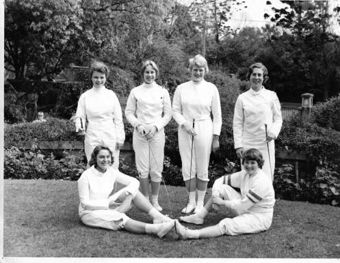 Team Members Back L-R: Cheryl Saunders, Mingion Holmes, Susan Pizzey, Rosemarie Sandford. Front L-R: Ruth Wheeldion, Penelope Curtis