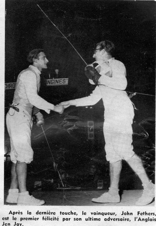 1958 Open Foil Mtr. Feathers Defeats Alan Jay