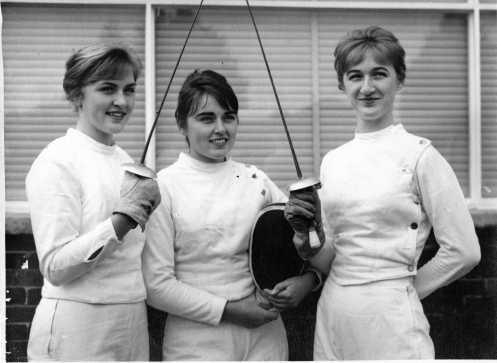 Winter Siblings Fencing in Tokyo Olympics 1964