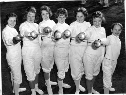 Late 1950s Continued The O Brien Academy Of Fencing
