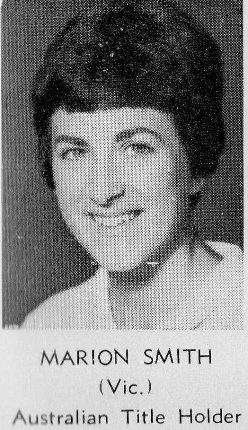Marion Smith (Australian Foil Champion 1965 Perth)