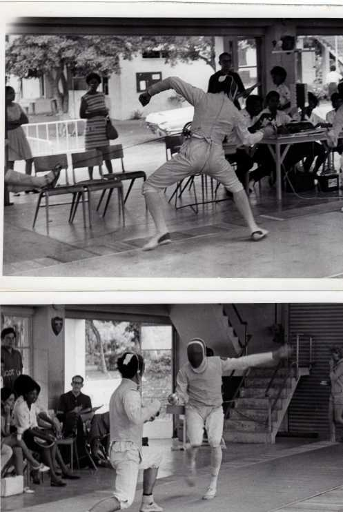 Competition at Jamaican Games 1966