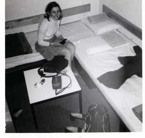 Christine McDougal at camp