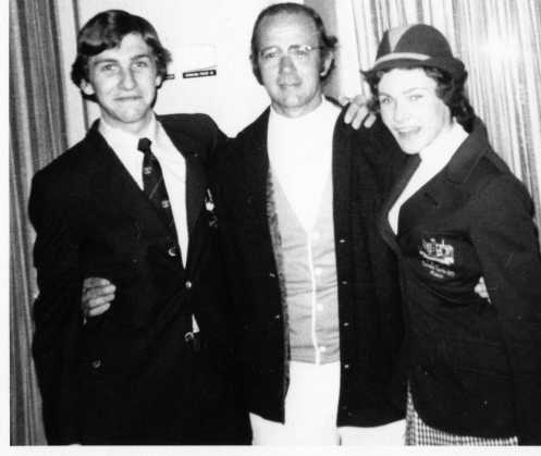 Aiport on the way to 1972 Olympic Games Munich Saying Farewell to Coach