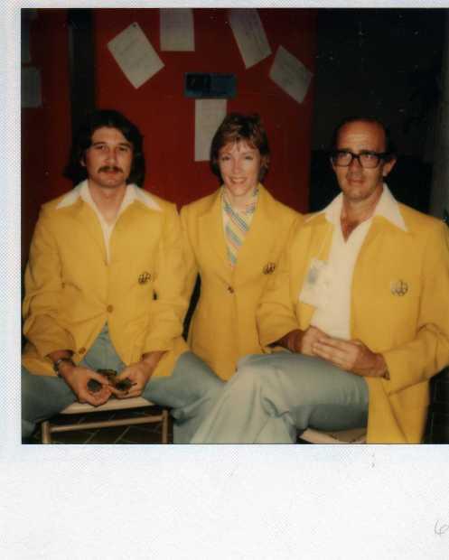 Olympic Officials Gary Worsfield, Dr. Sylvia Fain, Maitre Michael O'Brien