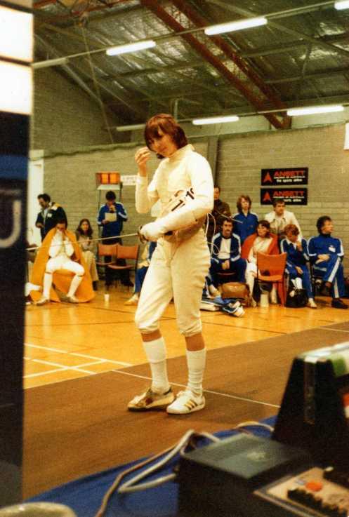 Australian Championships 1973 Mitzi Ferguson