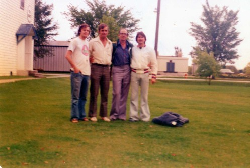 Coaches at Gimli Camp L-R: John Harvey, Claude Sequen, Michael O'Brien (AUS), Gary Worsfield (AUS)