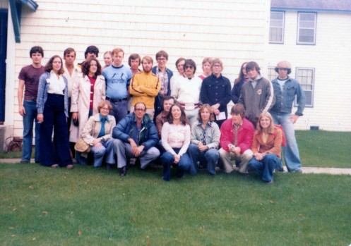 Gimli Fencing Camp Manitoba Canada 1977 (Fencers and Coaches)
