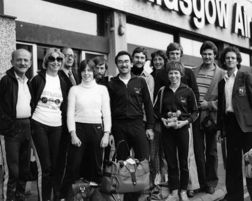 Commonwealth Games 1978 and World Championship Team Members (Missing G. Farkashazy and M. Ferguson)