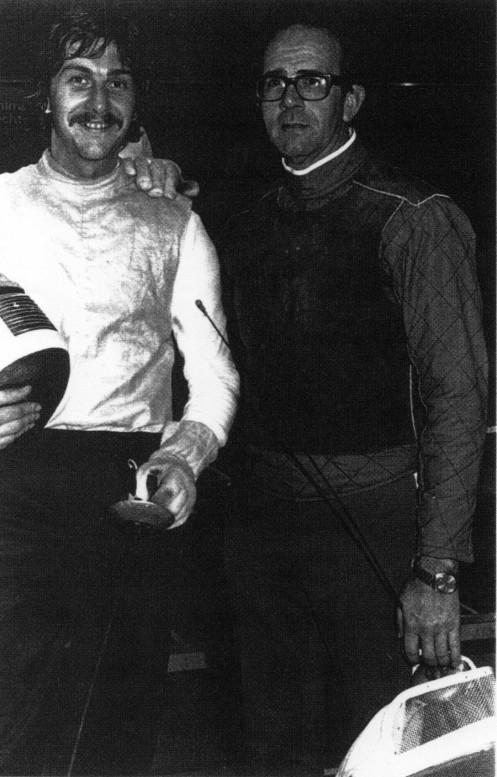 World Championships 1979 Melbourne - Greg Benko and Coach O'Brien