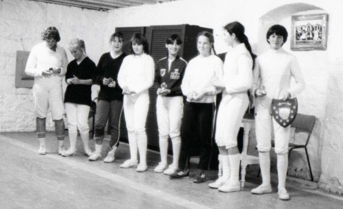 OBA Fencers at Loreto Convent Fencing Salle
