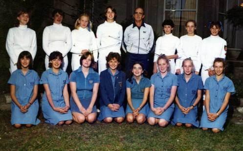 A Loreto Fencing Team