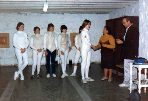 Loreto Convent Fencing Salle d'Armes