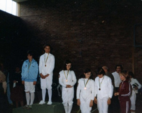 Australian Underage Championships. 1st Arieta Reeh, 3rd Jo Halls