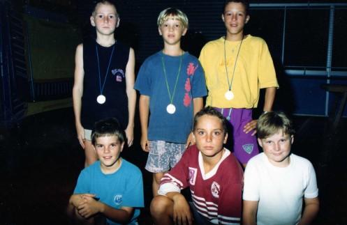 PYC Young Fencing hopefuls