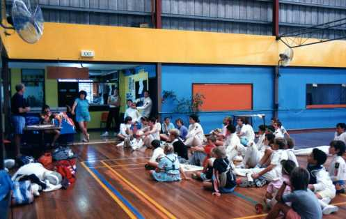 Youngsters Fencing Clinic