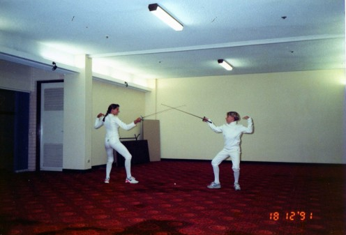 Fencers at Sunshine Coast