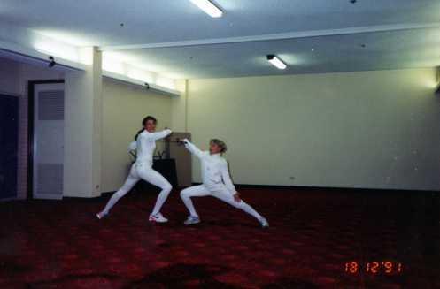 Fencers at Sunshine Coast