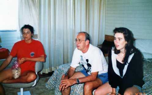 Vivienne, Michael and Phillipa