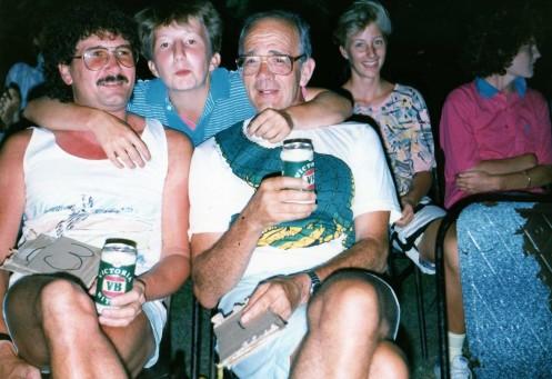 Gary Worsfield, Gerry Stubbs, Michael O'Brien